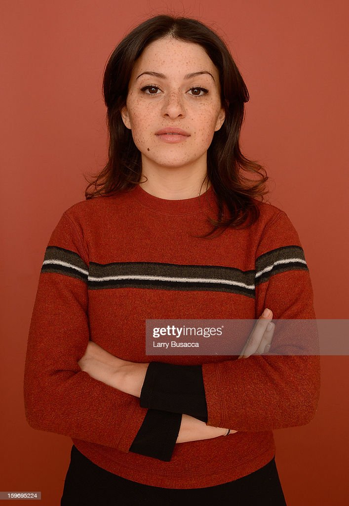 Actress Alia Shawkat poses for a portrait during the 2013 Sundance Film Festival at the Getty Images Portrait Studio at Village at the Lift on January 18, 2013 in Park City, Utah.