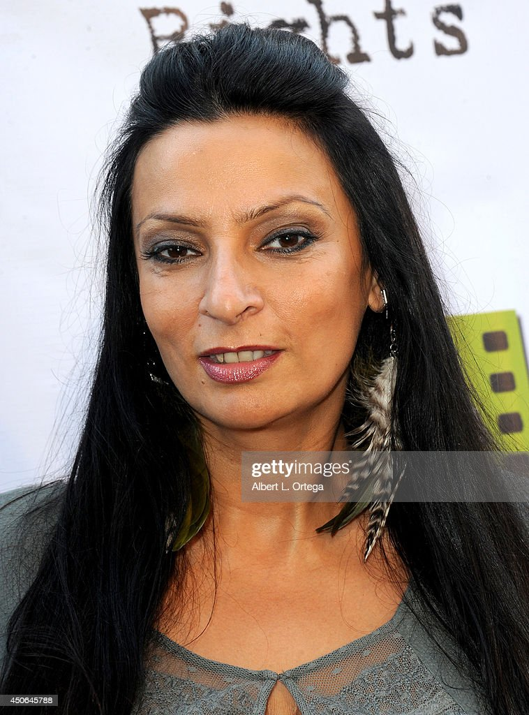 Actress <a gi-track='captionPersonalityLinkClicked' href=/galleries/search?phrase=Alice+Amter&family=editorial&specificpeople=3101721 ng-click='$event.stopPropagation()'>Alice Amter</a> arrives for the Premiere Of 'The World Famous Kid Detective' held at The Arena Theater on June 14, 2014 in Hollywood, California.