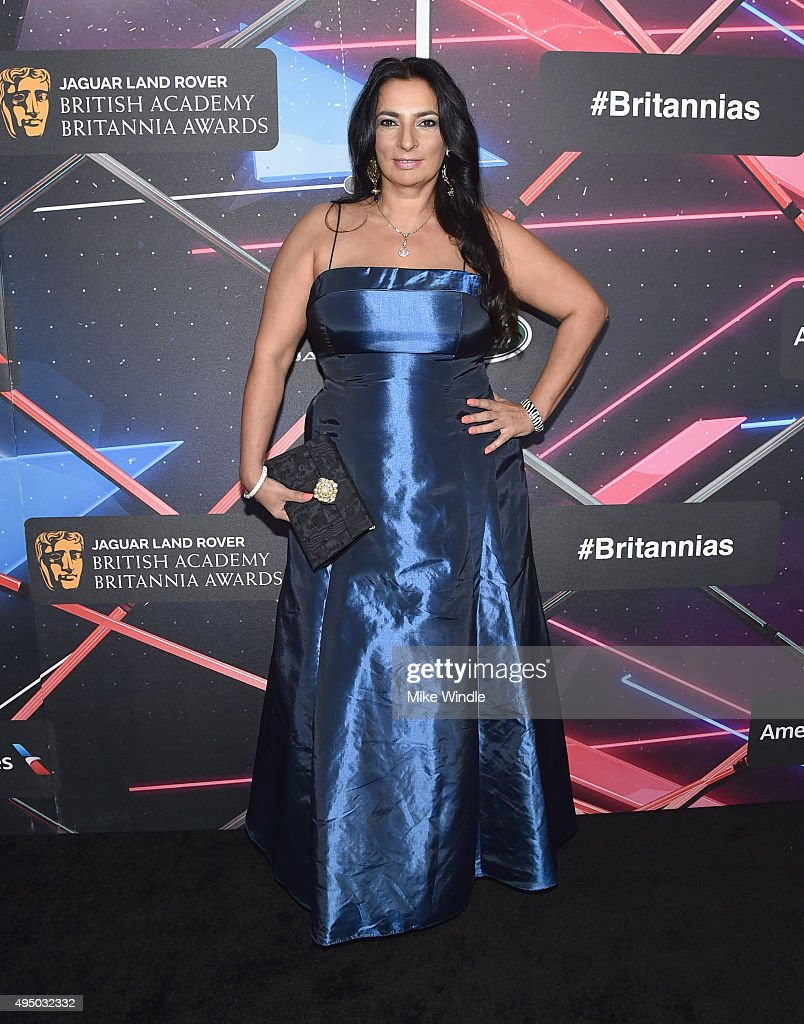 Actress Alice Amter attends the 2015 Jaguar Land Rover British Academy Britannia Awards presented by American Airlines at The Beverly Hilton Hotel on October 30, 2015 in Beverly Hills, California.