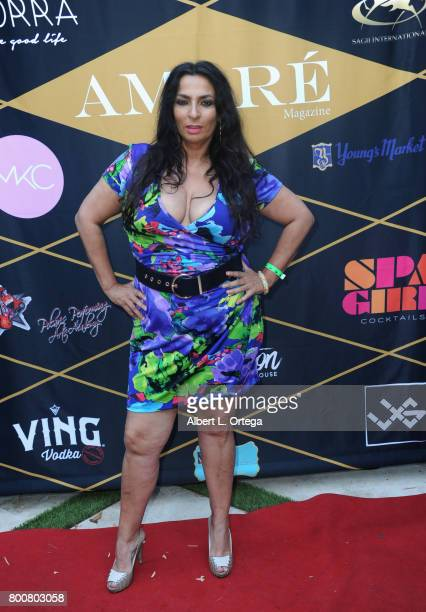 Actress Alice Amter attends the Amare Magazine 1st Year Anniversary Issue Release Soiree held at a Private Residence on June 24 2017 in Sherman Oaks...