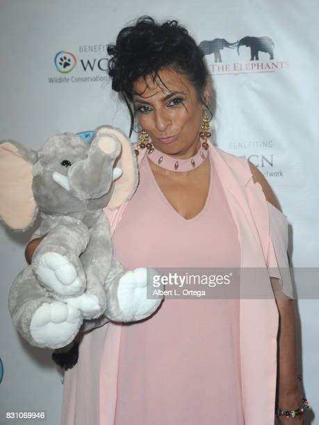 Actress Alice Amter attends the Celebration for World Elephant Day Hosted By Elephants In My Backyard held at Trunk Club on August 12 2017 in Culver...