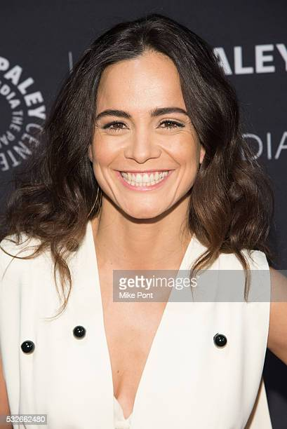 Actress Alice Braga attends the 2016 Paley Center for Media's Tribute To Hispanic Achievements In Television at Cipriani Wall Street on May 18 2016...