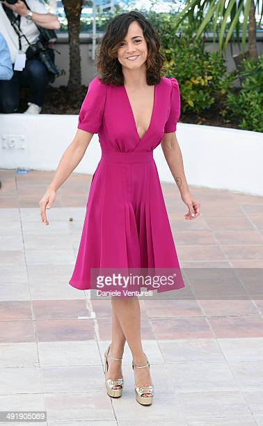 Actress Alice Braga attends the 'El Ardor' photocall at the 67th Annual Cannes Film Festival on May 18 2014 in Cannes France