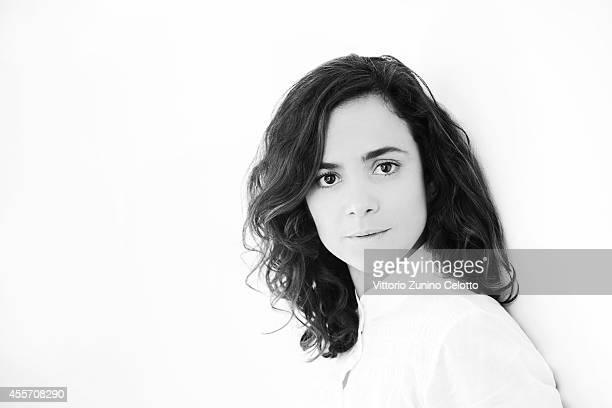 Actress Alice Braga is photographed on September 5 2014 in Venice Italy
