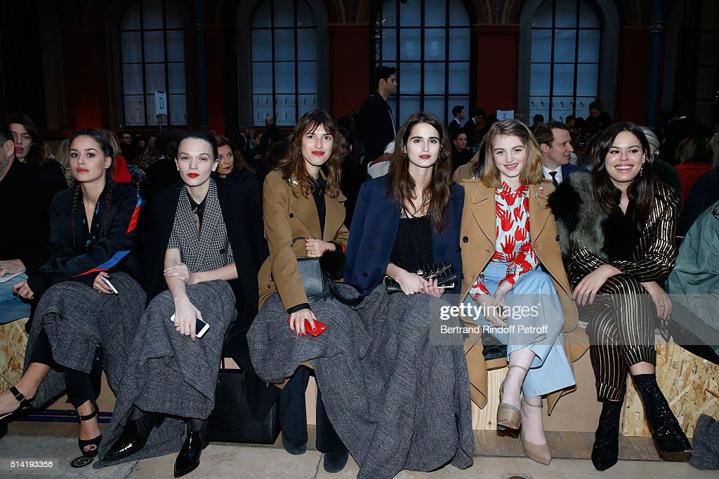 Sonia Rykiel : Front Row  - Paris Fashion Week Womenswear Fall/Winter 2016/2017