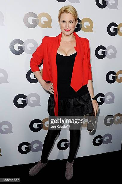 Actress Alice Evans arrives at the 16th Annual GQ 'Men Of The Year' Celebration at Chateau Marmont on November 17 2011 in Los Angeles California