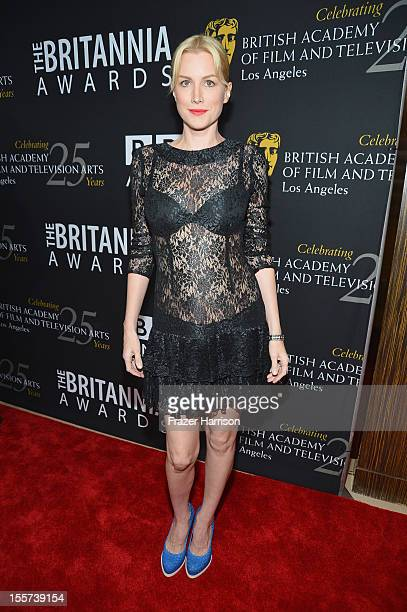 Actress Alice Evans arrives at the 2012 BAFTA Los Angeles Britannia Awards Presented By BBC AMERICA at The Beverly Hilton Hotel on November 7 2012 in...