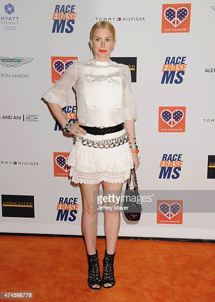 Actress Alice Evans arrives at the 22nd Annual Race To Erase MS at the Hyatt Regency Century Plaza on April 24 2015 in Century City California