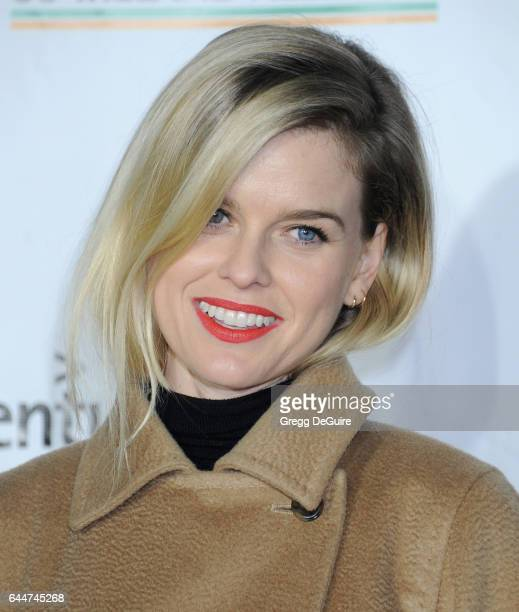 Actress Alice Eve arrives at the 12th Annual Oscar Wilde Awards at Bad Robot on February 23 2017 in Santa Monica California
