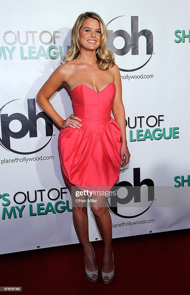 Actress <a gi-track='captionPersonalityLinkClicked' href=/galleries/search?phrase=Alice+Eve+-+Actress&family=editorial&specificpeople=570229 ng-click='$event.stopPropagation()'>Alice Eve</a> arrives at the Las Vegas premiere of 'She's Out of My League' at the Planet Hollywood Resort & Casino on March 10, 2010 in Las Vegas, Nevada. The film opens nationwide in the United States on March 12.