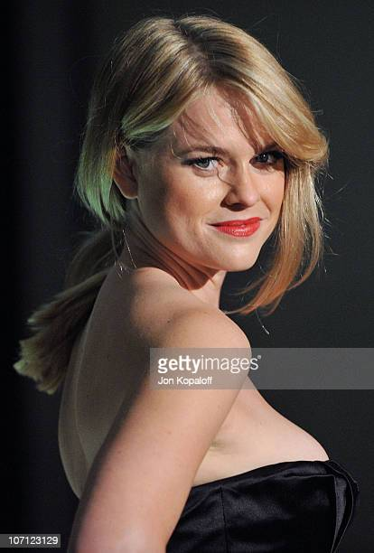 Actress Alice Eve arrives at the Prada Book Launch Party at Prada Rodeo Dr on November 13 2009 in Beverly Hills California
