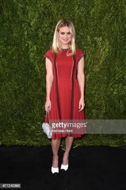 Actress Alice Eve attends CHANEL Tribeca Film Festival Women's Filmmaker Luncheon at The Odeon on April 21 2017 in New York City