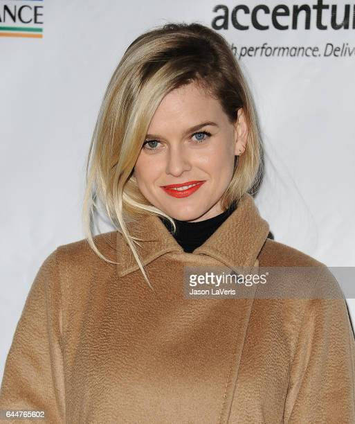 Actress Alice Eve attends the 12th annual Oscar Wilde Awards at Bad Robot on February 23 2017 in Santa Monica California