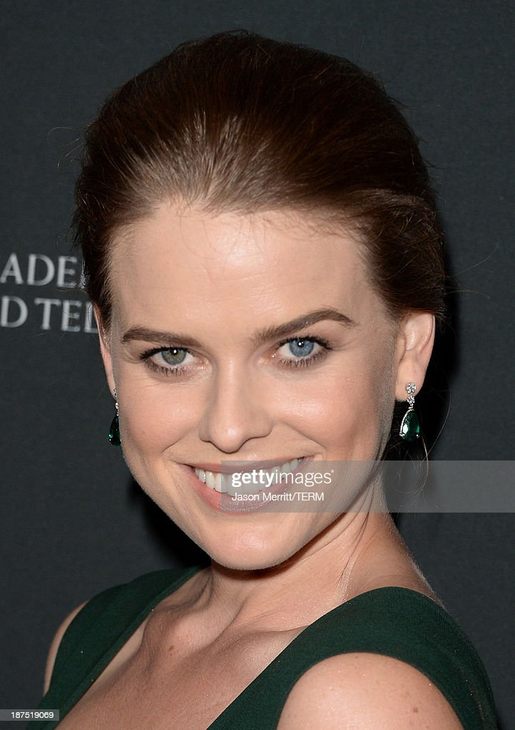 Actress Alice Eve attends the 2013 BAFTA LA Jaguar Britannia Awards presented by BBC America at The Beverly Hilton Hotel on November 9, 2013 in Beverly Hills, California.