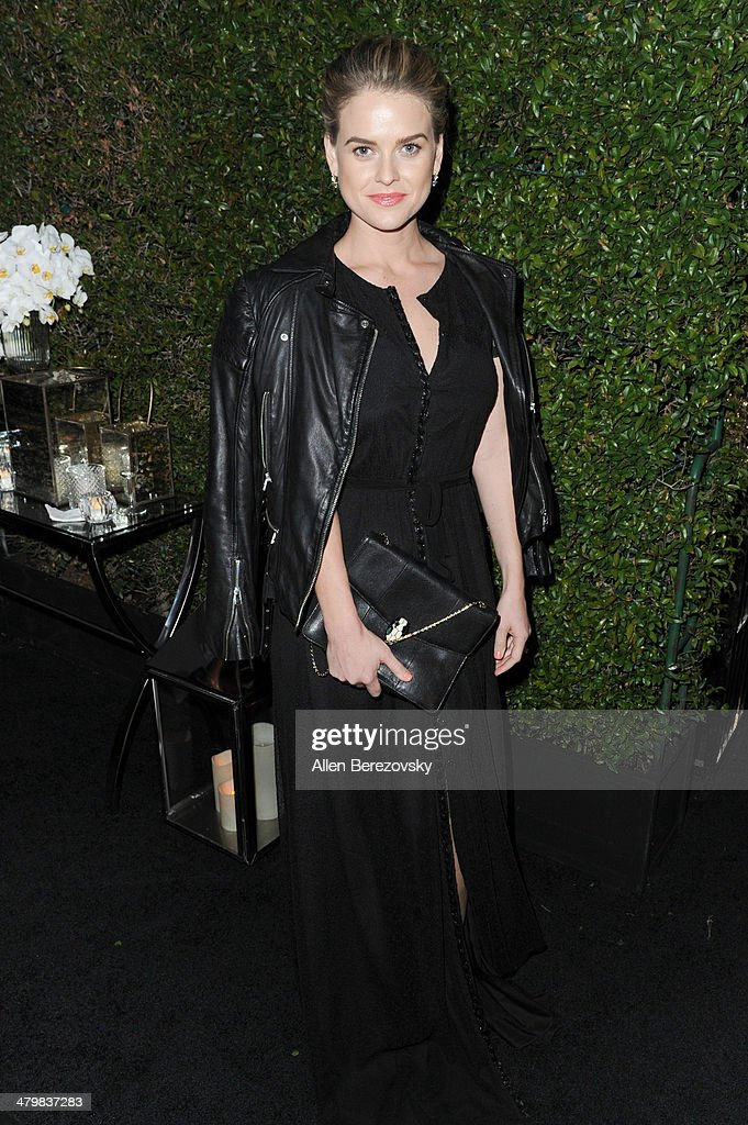 Actress <a gi-track='captionPersonalityLinkClicked' href=/galleries/search?phrase=Alice+Eve+-+Actress&family=editorial&specificpeople=570229 ng-click='$event.stopPropagation()'>Alice Eve</a> attends the 2nd Annual Rebel With A Cause Gala cocktail reception at Paramount Studios on March 20, 2014 in Hollywood, California.