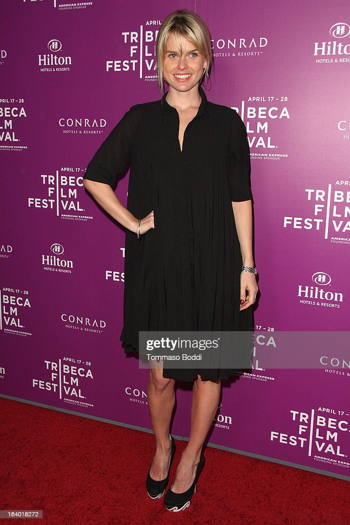 Actress Alice Eve attends the 5th annual Tribeca Film Festival 2013 LA reception held at The Beverly Hilton Hotel on March 18, 2013 in Beverly Hills, California.