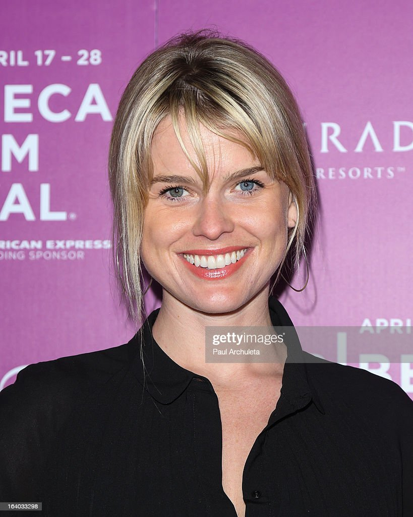 Actress Alice Eve attends the 5th annual Tribeca Film Festival 2013 LA reception at The Beverly Hilton Hotel on March 18, 2013 in Beverly Hills, California.