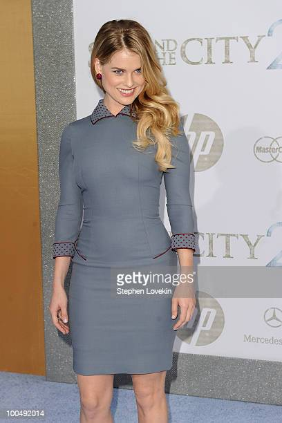 Actress Alice Eve attends the premiere of 'Sex and the City 2' at Radio City Music Hall on May 24 2010 in New York City