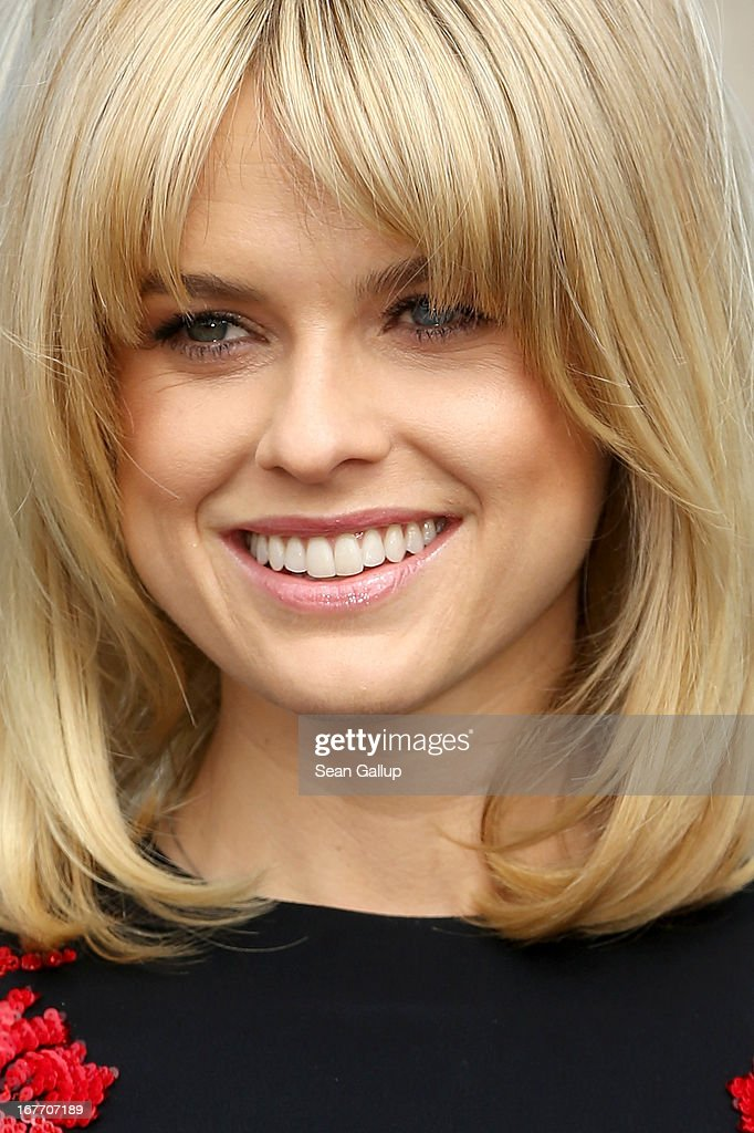Actress Alice Eve attends the 'Star Trek Into Darkness' Photocall at China Club on April 28, 2013 in Berlin, Germany.
