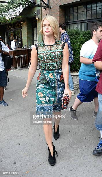 Actress Alice Eve is seen walking in Soho on August 3 2015 in New York City
