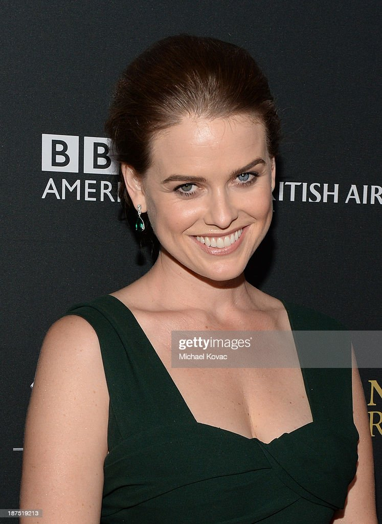 Actress Alice Eve with Stylebop.com attends the 2013 BAFTA LA Jaguar Britannia Awards presented by BBC America at The Beverly Hilton Hotel on November 9, 2013 in Beverly Hills, California.