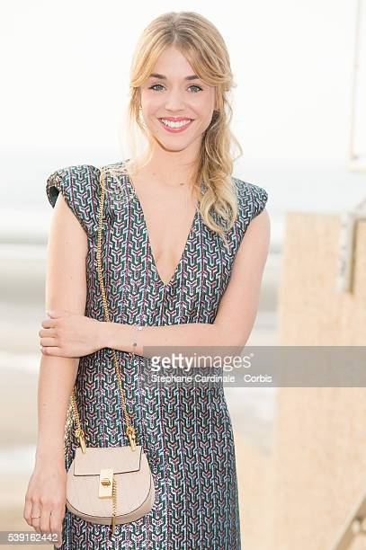 Actress Alice Isaaz attends the Opening Dinner for the benefit of the association ' Children of the sun' during the 30th Cabourg Film Festival on...
