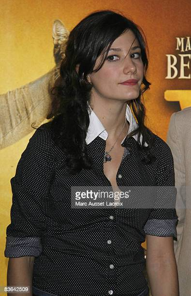 Actress Alice Pol attends the premiere of 'Vilaine' at the UGC les Halles on November 10 2008 in Paris France