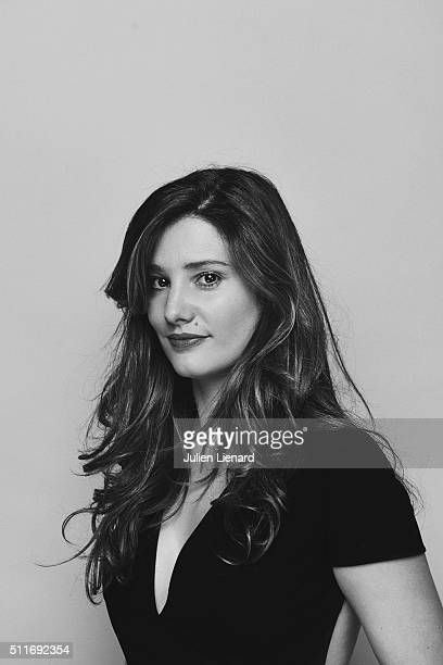 Actress Alice Pol is photographed for for Self Assignment on February 2 2016 in Paris France