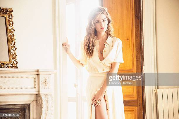 Actress Alice Pol is photographed for Self Assignment on February 23 2015 in Paris France