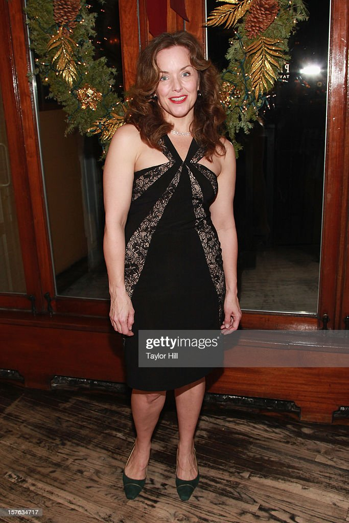 Actress Alice Ripley attends the after party for the opening night of 'A Civil War Christmas' at Phebe's on December 4, 2012 in New York City.