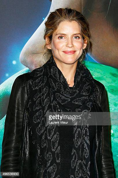 Actress Alice Taglioni attends 'Le Voyage d'Arlo The Good Dinosaur' Paris Premiere at Le Grand Rex on November 10 2015 in Paris France