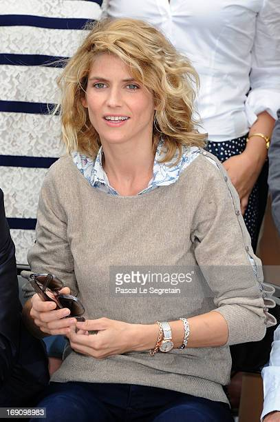 Actress Alice Taglioni attends the photocall for 'Jeunes Talents Adami' during The 66th Annual Cannes Film Festival at Palais des Festivals on May 20...