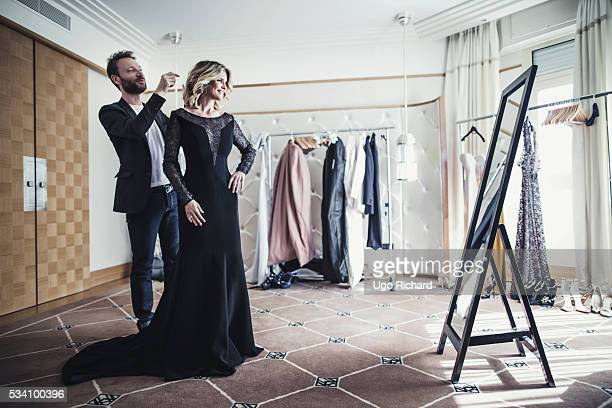 Actress Alice Taglioni is photographed for Gala on May 15 2016 in Cannes France
