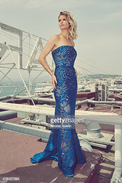 Actress Alice Taglioni is photographed for Self Assignment on May 15 2015 in Cannes France