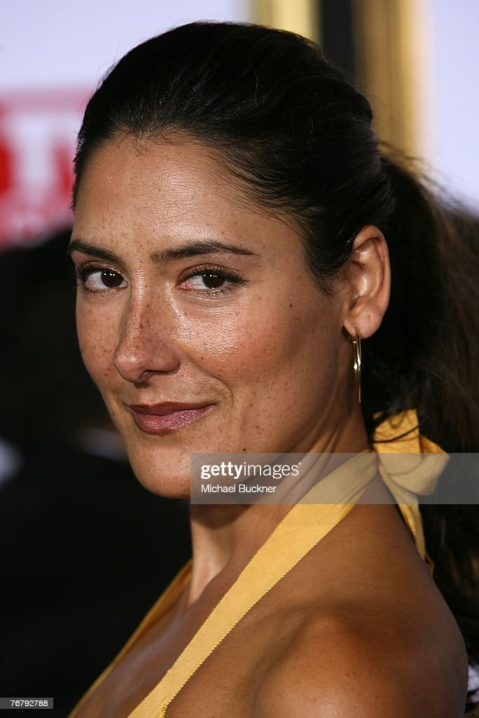Actress Alicia Coppola arrives at TV Guide's 5th Annual Emmy Party September 16, 2007 in Los Angeles.