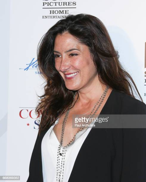 Actress Alicia Coppola attends the premiere of 'A Cowgirl's Story' at Pacific Theatres at The Grove on April 13 2017 in Los Angeles California
