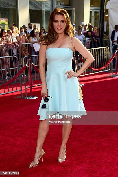 Actress Alicia Machado attends Disney's 'The BFG' premiere at the El Capitan Theatre on June 21 2016 in Hollywood California