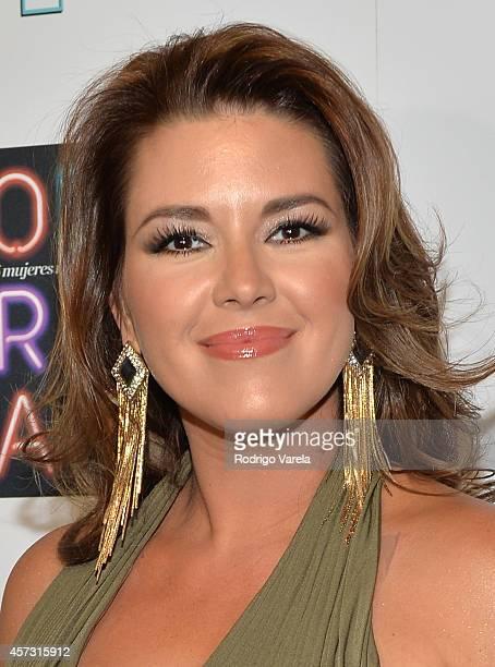 Actress Alicia Machado attends Las 25 Mujeres Mas Poderosas de People en Espanol luncheon at Coral Gables Country Club on October 16 2014 in Coral...
