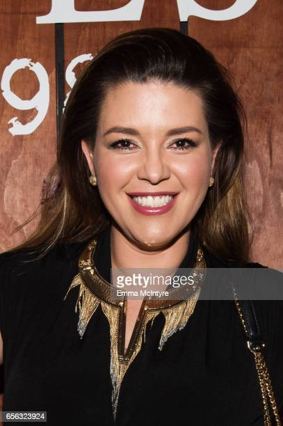 Actress Alicia Machado attends the Guess 1981 fragrance launch at Chateau Marmont on March 21 2017 in Los Angeles California
