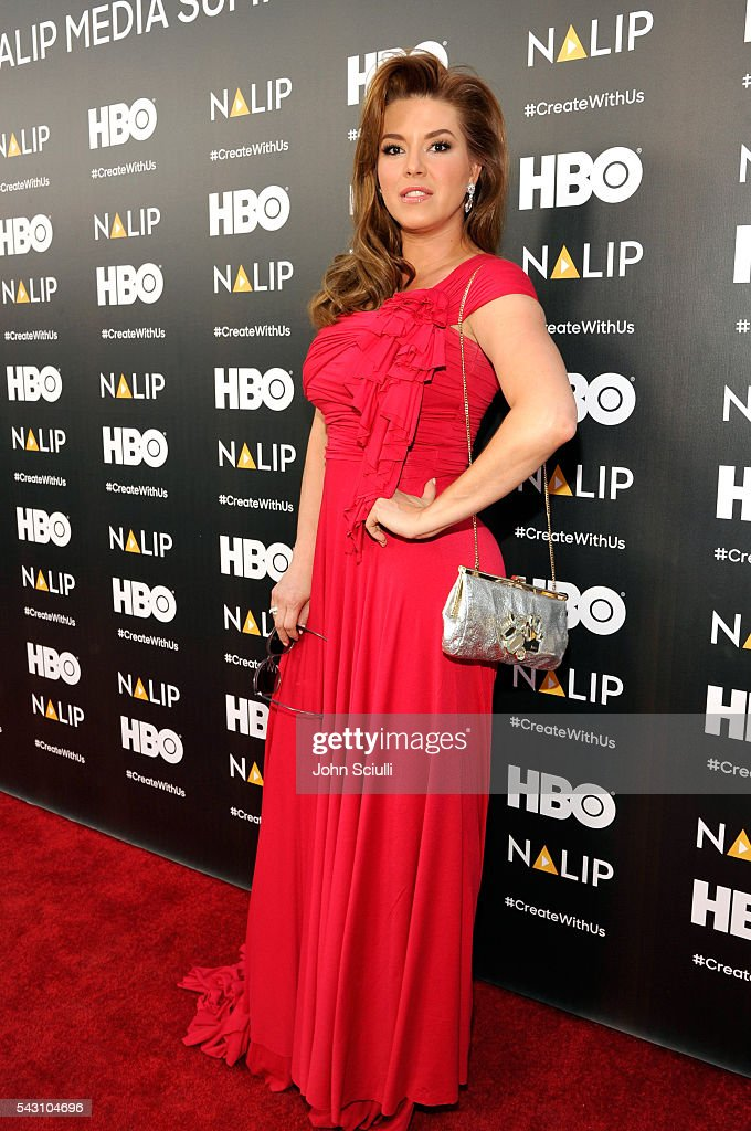Actress Alicia Machado attends the NALIP 2016 Latino Media Awards at Dolby Theatre on June 25, 2016 in Hollywood, California.
