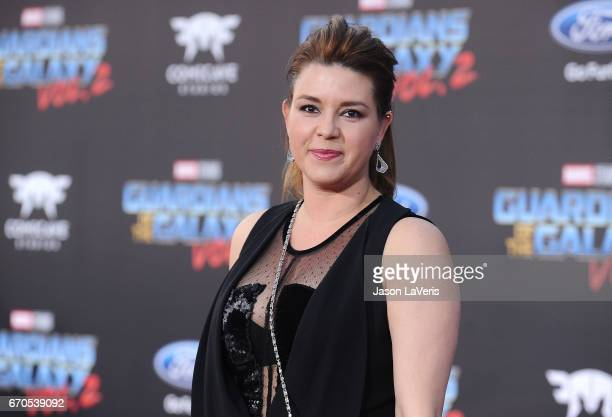Actress Alicia Machado attends the premiere of 'Guardians of the Galaxy Vol 2' at Dolby Theatre on April 19 2017 in Hollywood California