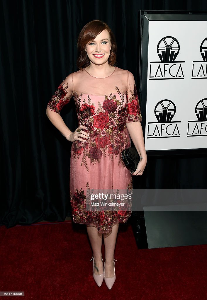 Actress Alicia Malone attends the 42nd annual Los Angeles Film Critics Association Awards at InterContinental Los Angeles Century City on January 14, 2017 in Los Angeles, California.