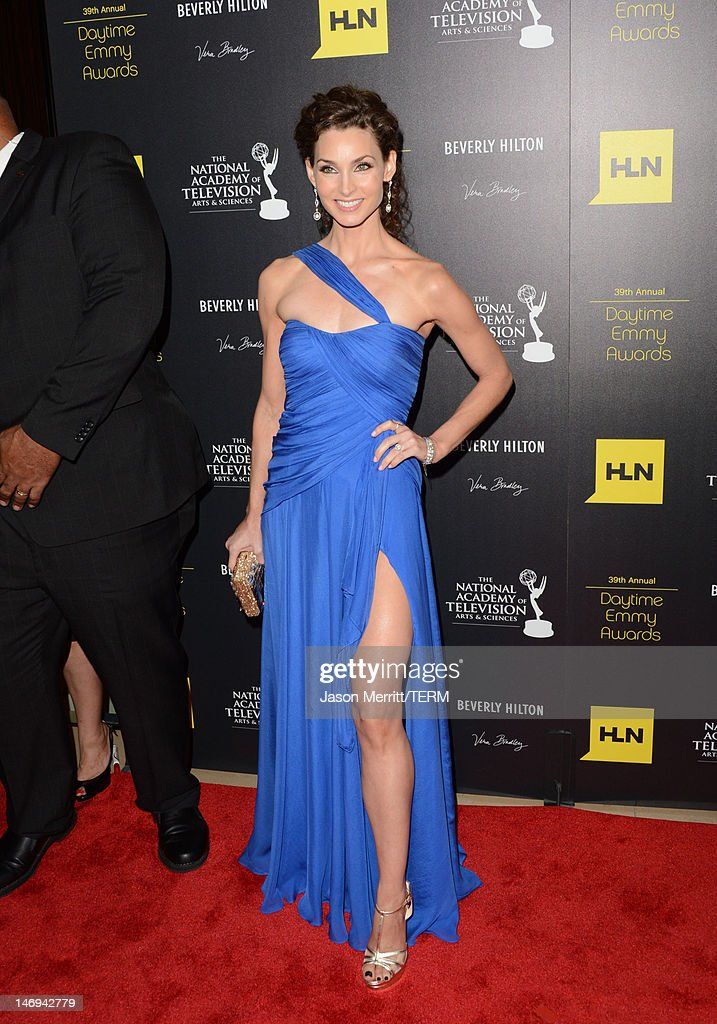 Actress Alicia Minshew arrives at The 39th Annual Daytime Emmy Awards broadcasted on HLN held at The Beverly Hilton Hotel on June 23, 2012 in Beverly Hills, California. (Photo by Jason Merritt/WireImage) 22542_002_JM_1914.JPG