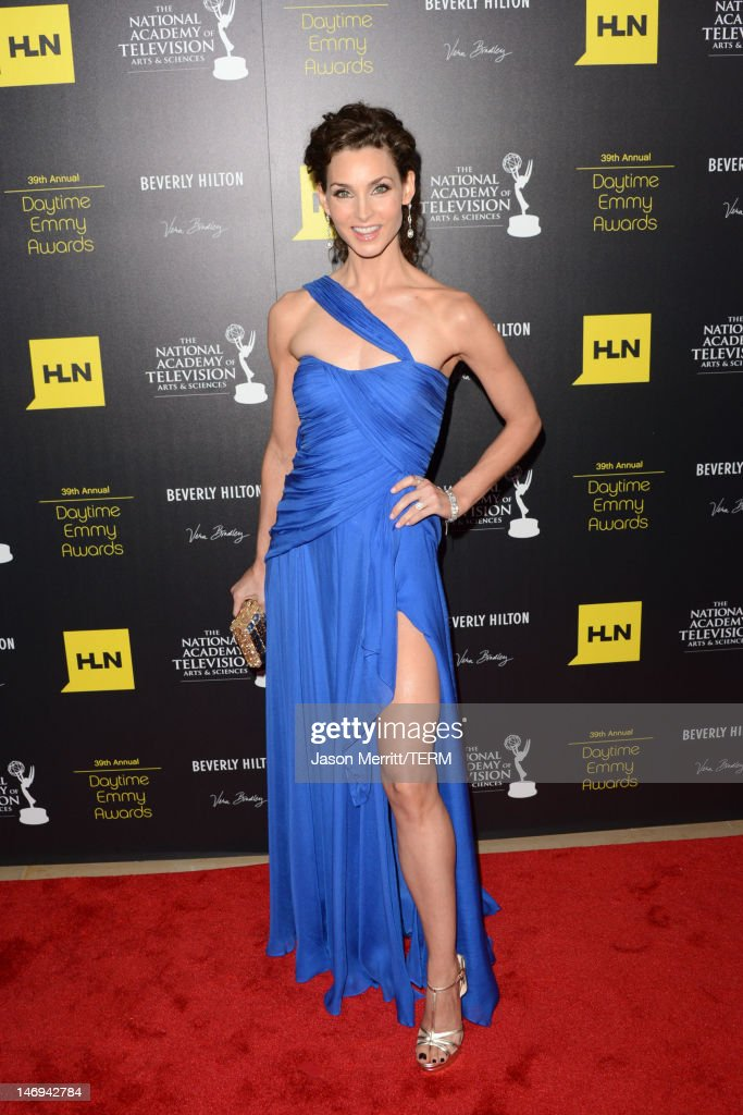 Actress Alicia Minshew arrives at The 39th Annual Daytime Emmy Awards broadcasted on HLN held at The Beverly Hilton Hotel on June 23, 2012 in Beverly Hills, California. (Photo by Jason Merritt/WireImage) 22542_002_JM_1928.JPG