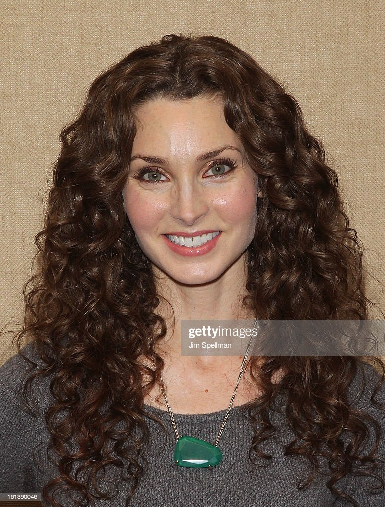 Actress <a gi-track='captionPersonalityLinkClicked' href=/galleries/search?phrase=Alicia+Minshew&family=editorial&specificpeople=653963 ng-click='$event.stopPropagation()'>Alicia Minshew</a> attends the 'Spontaneous Construction' premiere at Guy?s American Kitchen & Bar on February 10, 2013 in New York City.