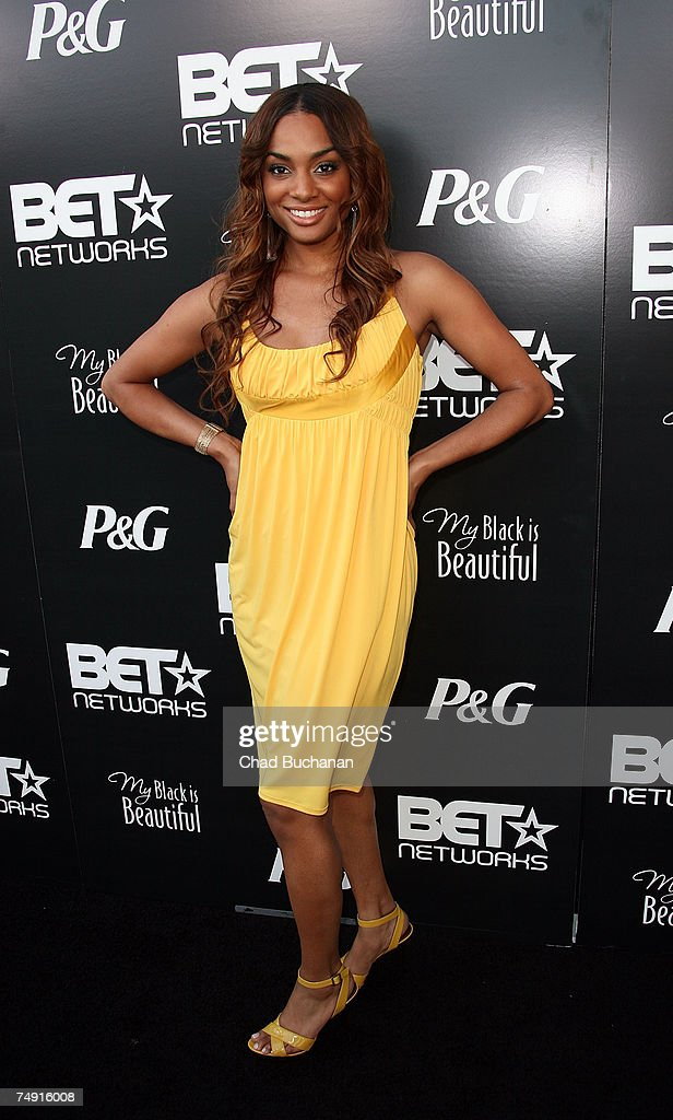 Actress Alicia Renee attends the 1st Annual Pre-BET Awards Party at Boulevard 3 on June 25, 2007 in Los Angeles, California.
