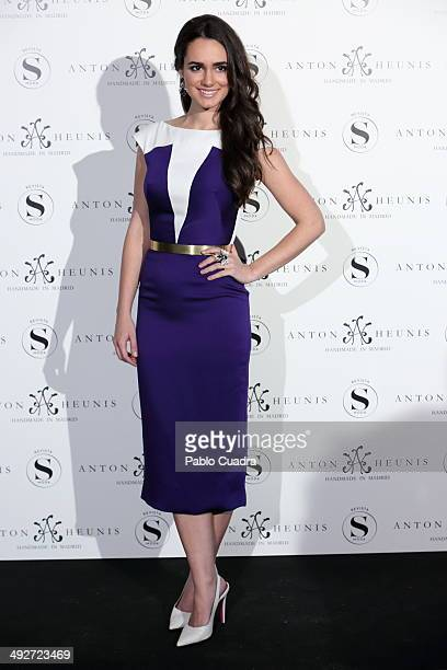 Actress Alicia Sanz attends Anton Heunis Jewelry 10th Anniversary on May 21 2014 in Madrid Spain
