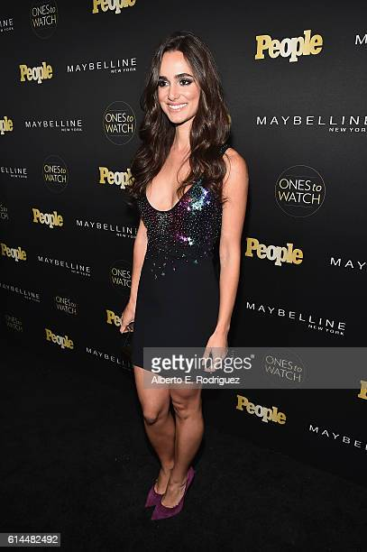 Actress Alicia Sanz attends People's 'Ones to Watch' event presented by Maybelline New York at EP LP on October 13 2016 in Hollywood California