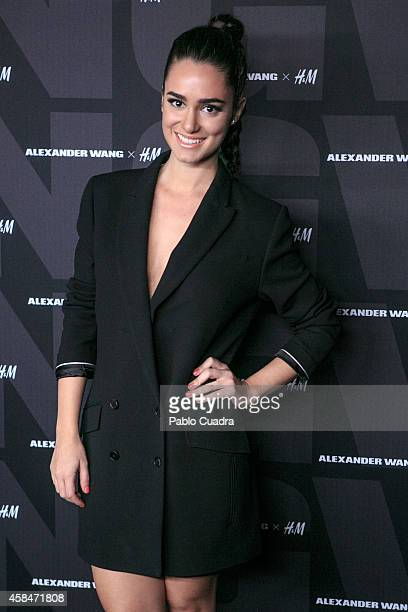 Actress Alicia Sanz attends the Alexander Wang X HM Party at 'But' Club on November 5 2014 in Madrid Spain