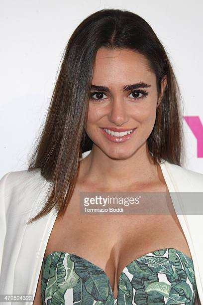 Actress Alicia Sanz attends the NYLON Magazine And BCBGeneration Annual May Young Hollywood Issue Party held at HYDE Sunset Kitchen Cocktails on May...